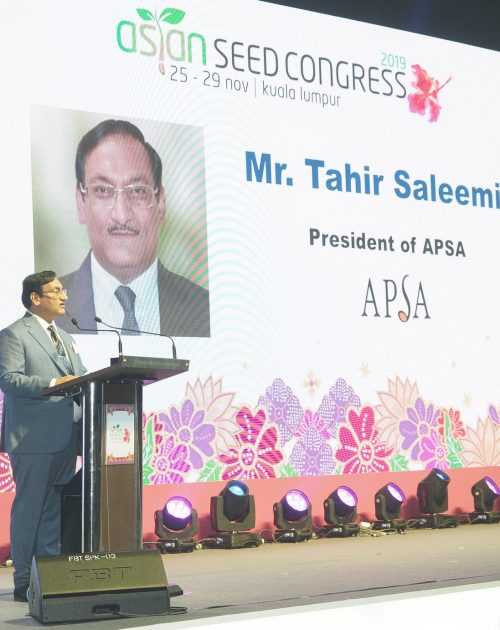 Mr. Saleemi delivers his inaugural speech at ASC'19